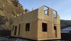 Строительство дома в Слизнево